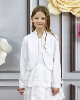 Bolerko komunijne dla dziewczynki, jacket outfit for gifl, first communion