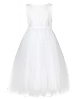 Sukienka dla dziewczynki na komunię, A girl dress for communion