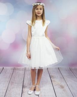 cfad4060cc Sukienka komunijna dla dziewczynki 134-164 Julia 2 biała