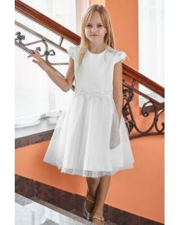 fd3eac886a Sukienka komunijna dla dziewczynki 134-164 Julia biała