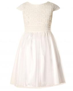 Komunijna sukienka dla dziewczynki, tiul, Communion dress for a girl