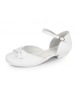 Dziewczęce białe buty dla dziewczynki, Communion shoes for girl, Sklep
