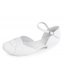 Komunijne białe buciki 33-38 BK26 Białe
