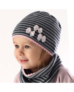 Komplet dla dziewczynki, na wiosnę, cap for girl, webshop, sklep