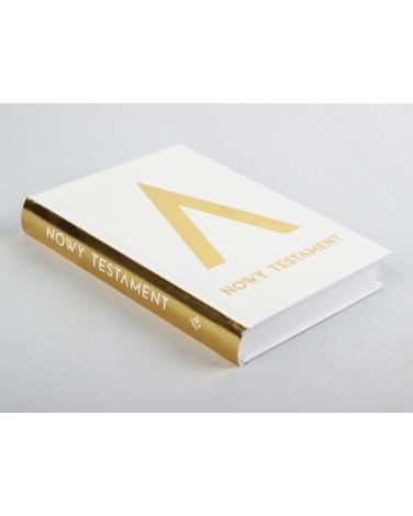 Pismo Święte Nowy Testament złota