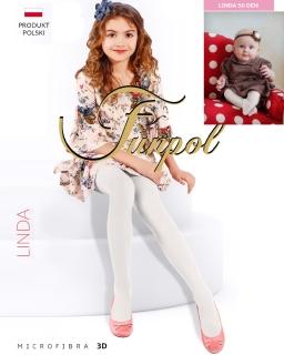 Rajstopy dla dziewczynki średnia grubość funpol tights for girls sklep