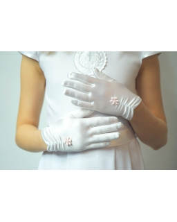 Rękawiczki komunijne RR17