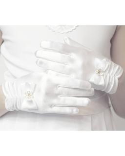 Rękawiczki komunijne RR18