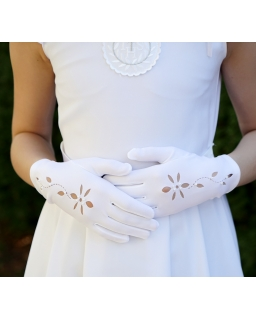 Rękawiczki komunijne KB71