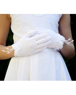 Rękawiczki komunijne KB59