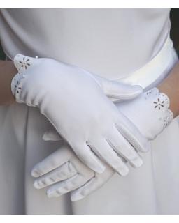Rękawiczki komunijne KB72