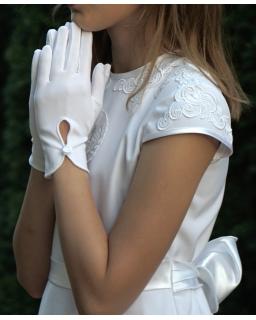 Rękawiczki komunijne KB22