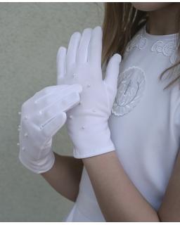 Rękawiczki komunijne KB02