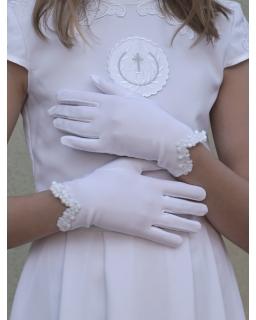 Rękawiczki komunijne KB51