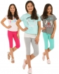 Legginsy dla dziewczynek krótkie do kolan wygodne sklep shop