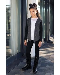 Granatowe spodnie dla dziewcyznki, navy pants for girls