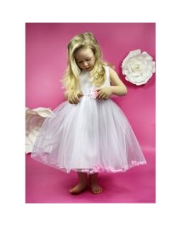 Tiulowa sukienka dla małej księżniczki 104-134 Karolcia róż