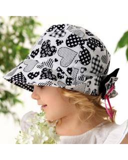 Bawełniany kapelusz dla dziewczynki,hat for girl, webshop,sklep online