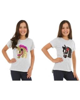 Koszulka z cekinami dla dziewczynkia, t-shirt for girl, online shop