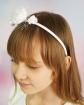 Efektowna opaska dla dziewczynki OP49