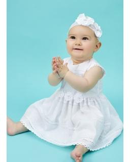 Sukienka dla dziewczynki, lato, chrzest, sklep webshop for a girl
