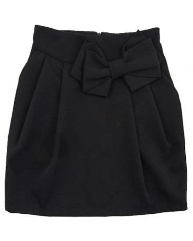 Szkolna spódniczka dla dziewczynki 122-158 Martyna czarna