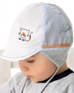 Letnia czapka dla chłopca, summer hat for boy, online shop