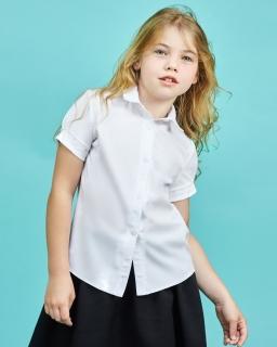 Szkolna bluzka dla dziewczynki, blouse for girl, sklep online, webshop