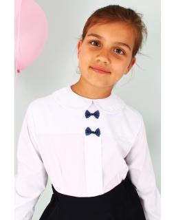 Bluzka dla dziewczynki, niebieska, blouse for girl, sklep online, webs
