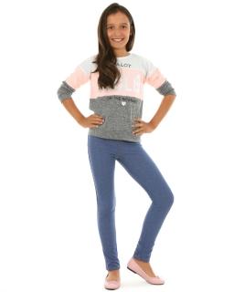 Legginsy dla dziewczynki, jak jeasny, leggings for girl, online shop
