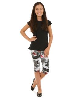 Legginsy 3/4 dla dziewczynki, leggings for girl, online shop