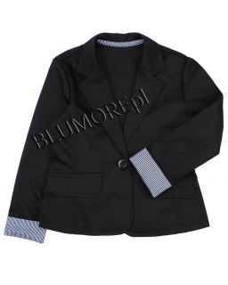 Marynarka dla dziewczynki, czarna, jacket for girl, online shop