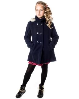 Płaszcz jesienno-zimowy 128 - 164 Angela granat