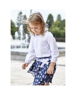 Biała bluzka dla dziewczynki, White blouse for girl, sklep online