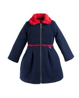 Ocieplany płaszcz dla dziewczynki, coat for girl, online shop