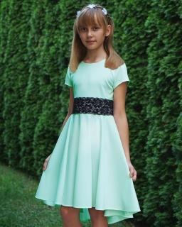 Sukienka dla dziewczynki, dłuższy tył, dress for girl, sklep online