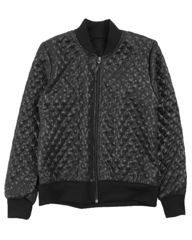 Bomberka pikowana, quilted bomber for a girl
