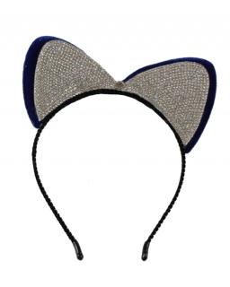 Opaska dla dziewczynki, wesoła, błyszcząca, headband for girls webshop