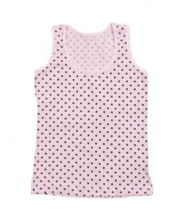 Podkoszulek dla dziewczynki, bawełniany, Cotton T-Shirt for Girls,