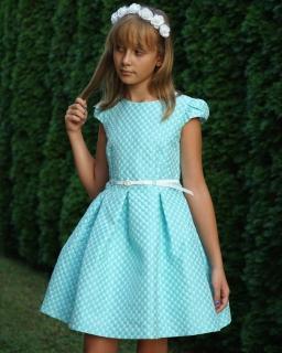 Sukienka dla dziewczynki, miętowa, sklep online, Dress for girls,