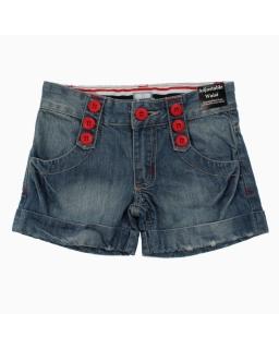Krótkie spodenki dla dziewczynki, jeans, shorts for a girl, webshop