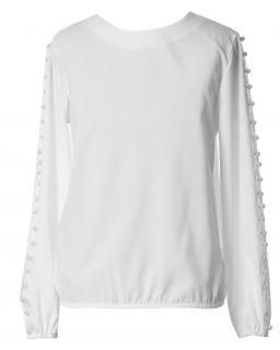 Bluzka dla dziewczynki ,blouse with pearls for a girl