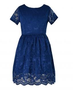 Sukienka dla dziewczynki Suknia na lato przyjęcie wesele Koronkowa