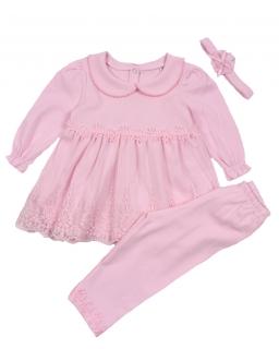 Komplet dla dziewczynki, 3-elementowy, niemowle, baby, webshop, sklep