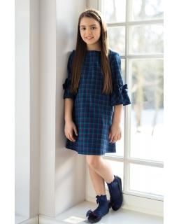 Sukienka dla dziewczynki, w kratkę, święta, dress for girl, sklep