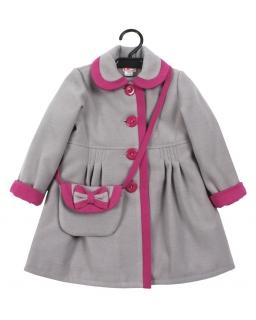 Ciepły płaszczyk z torebką, Warm coat with a purse, online shop