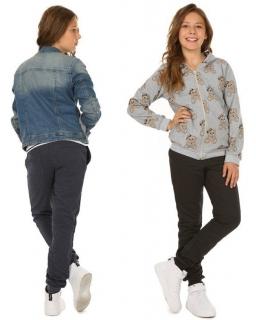 Dziewczęce spodnie dresowe 116-158 KR42 Trzy kolory