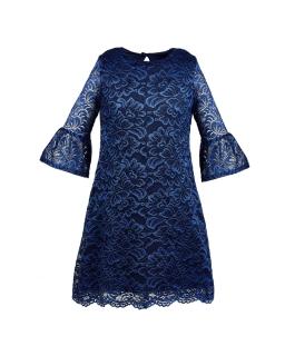 Sukienka z wysokogatunkowej koronki z podszewką