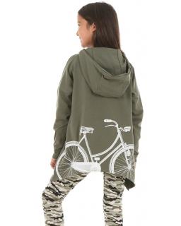 Bluza oversize 128 - 158 KR56 khaki
