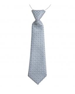 Krawat na gumce z gotowym wiązaniem dla chłopca